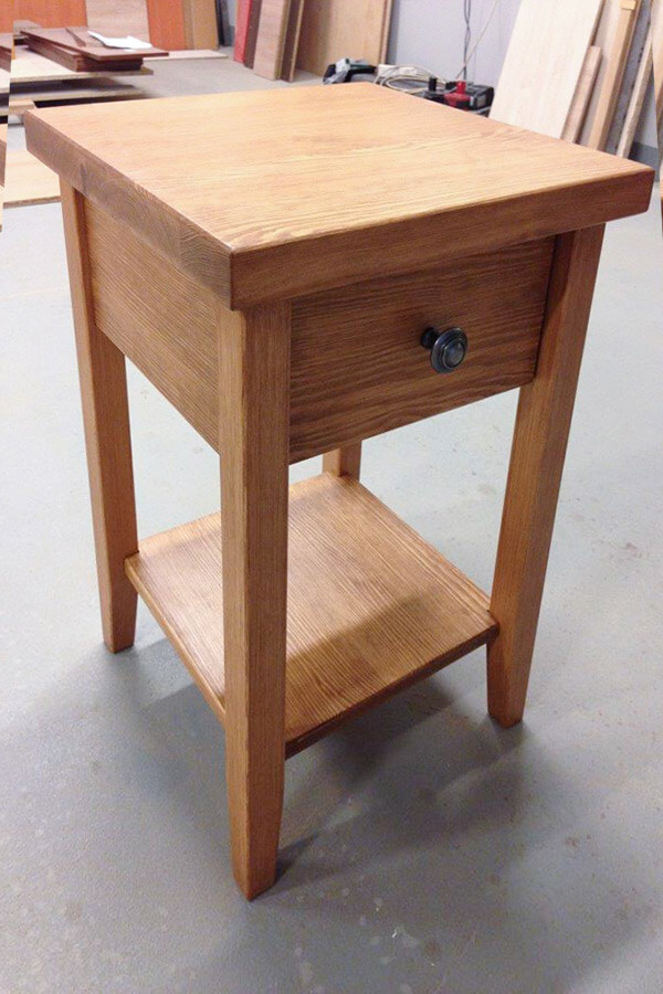 Lakierowanie frontów meblowych, szafki stoliki